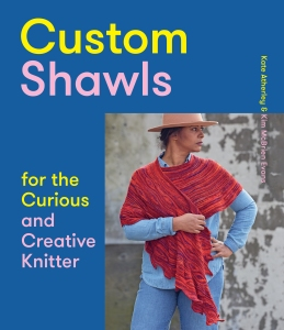 The cover of the book Custom Shawls, by Kate Atherley and Kim McBrien Evans